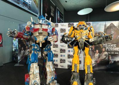 Lanzamiento Transformers en DVD