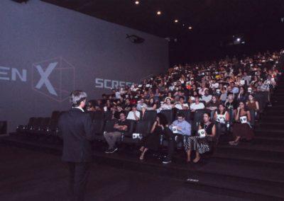 Presentación sala Screen X