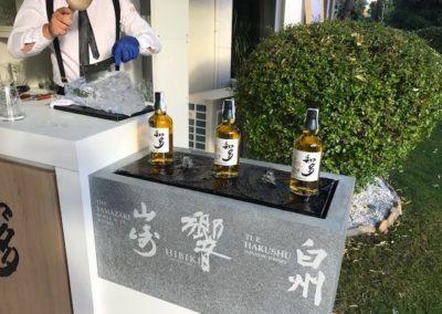 Presentación whisky japonés Suntury